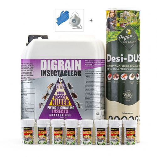 Clothes Moth Kill and Control Treatment Kit 3